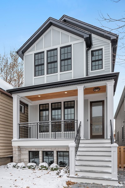 Real Estate Photography - 4100 N Oakley Ave, Chicago, IL, 60618 - Front View