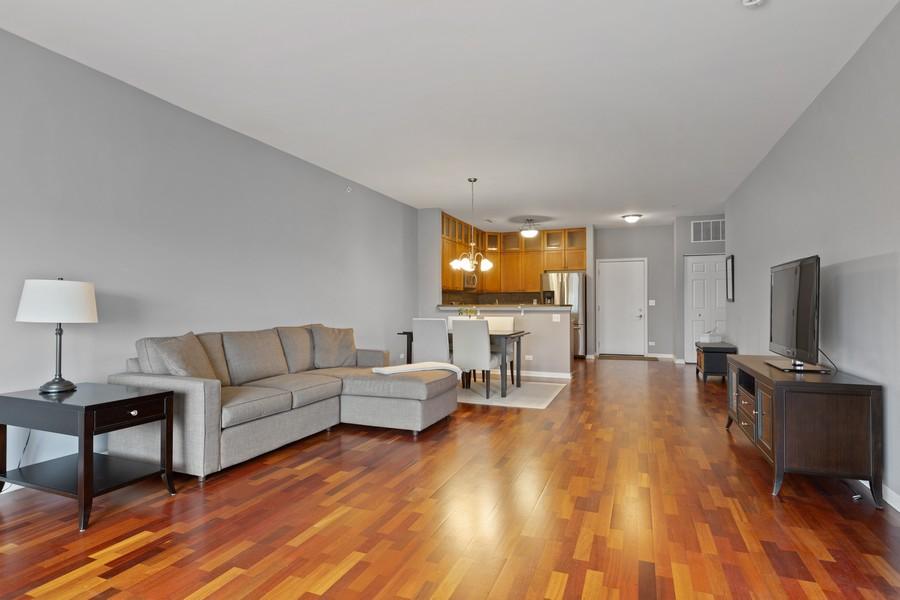 Real Estate Photography - 945 Burlington Ave, Unit 404, Downers Grove, IL, 60515 - Living Room