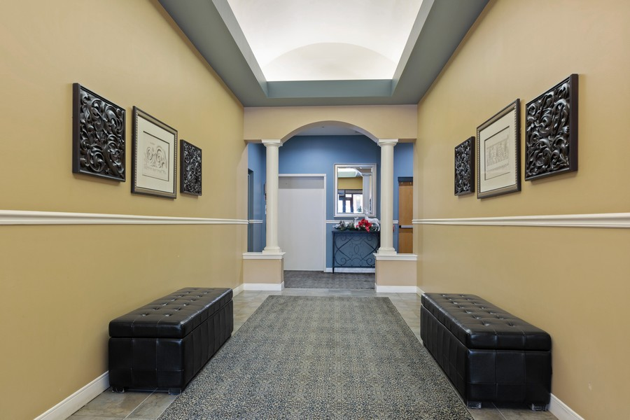 Real Estate Photography - 945 Burlington Ave, Unit 404, Downers Grove, IL, 60515 - Lobby