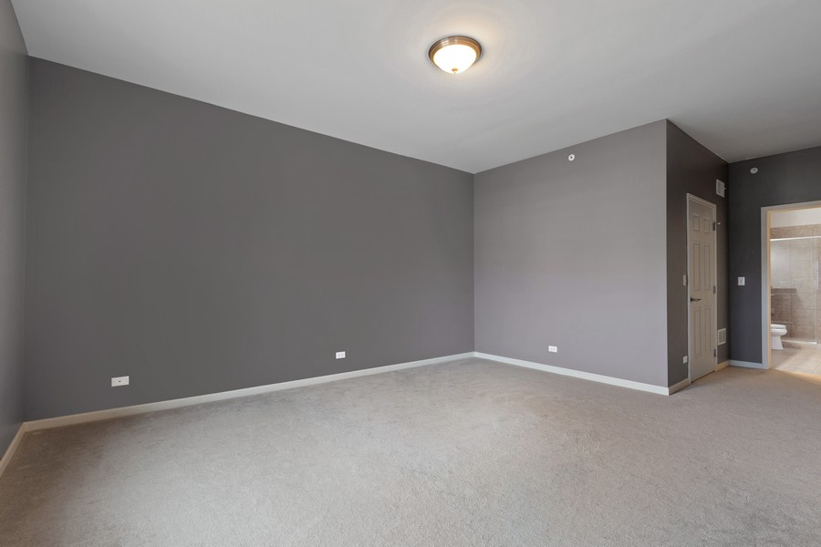 Real Estate Photography - 945 Burlington Ave, Unit 404, Downers Grove, IL, 60515 - Master Bedroom