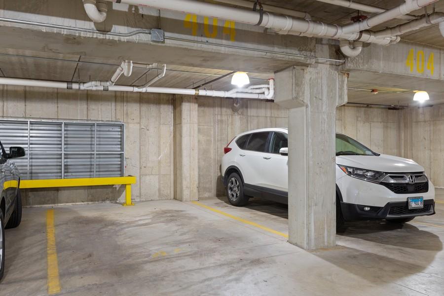Real Estate Photography - 945 Burlington Ave, Unit 404, Downers Grove, IL, 60515 - Garage