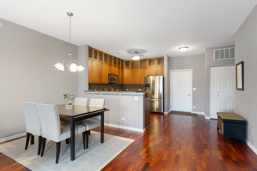Real Estate Photography - 945 Burlington Ave, Unit 404, Downers Grove, IL, 60515 - Dining Area