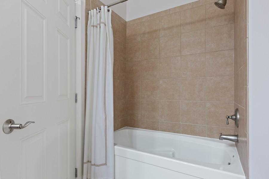 Real Estate Photography - 945 Burlington Ave, Unit 404, Downers Grove, IL, 60515 - Bathroom
