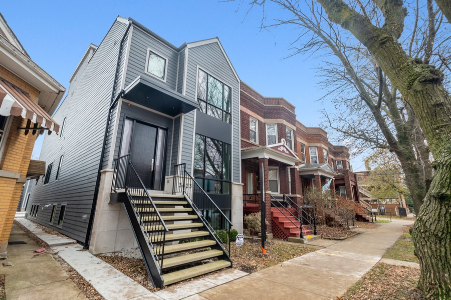 Real Estate Photography - 3623 N Leavitt, Chicago, IL, 60618 - Front View