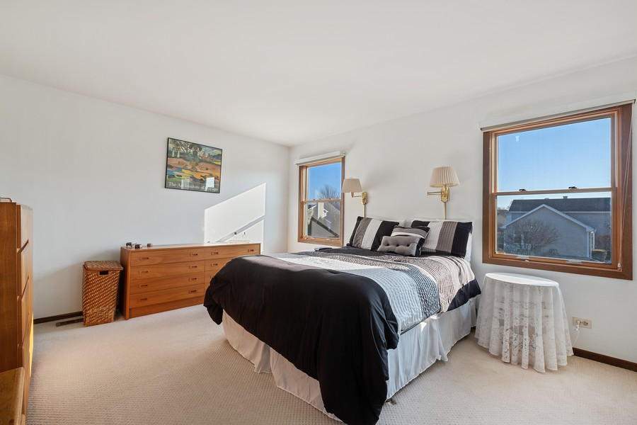 Real Estate Photography - 1201 Lockwood, Buffalo grove, IL, 60089 - Master Bedroom
