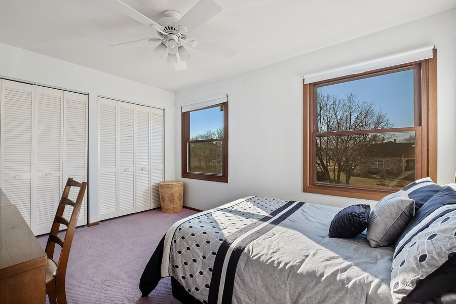 Real Estate Photography - 1201 Lockwood, Buffalo grove, IL, 60089 - 2nd Bedroom