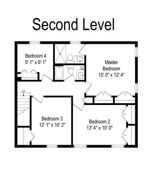 Real Estate Photography - 1201 Lockwood, Buffalo grove, IL, 60089 - Floor Plan