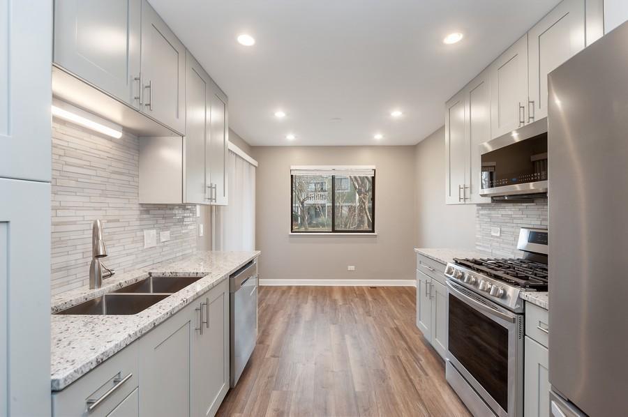 Real Estate Photography - 611 Ironwood Ct, Unit A1, Wheeling, IL, 60090 - Kitchen