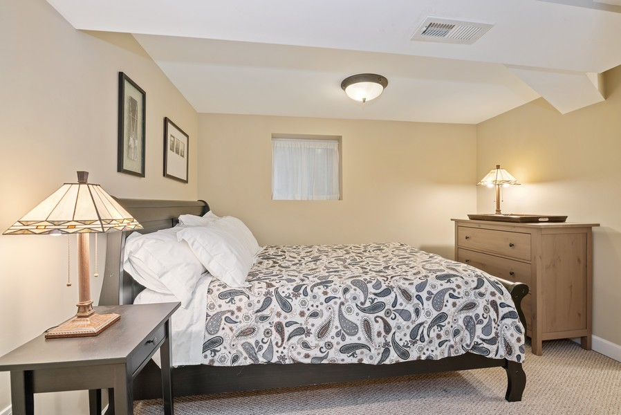 Real Estate Photography - 3655 N Artesian, Chicago, IL, 60618 - Lower Level 4th Bedroom