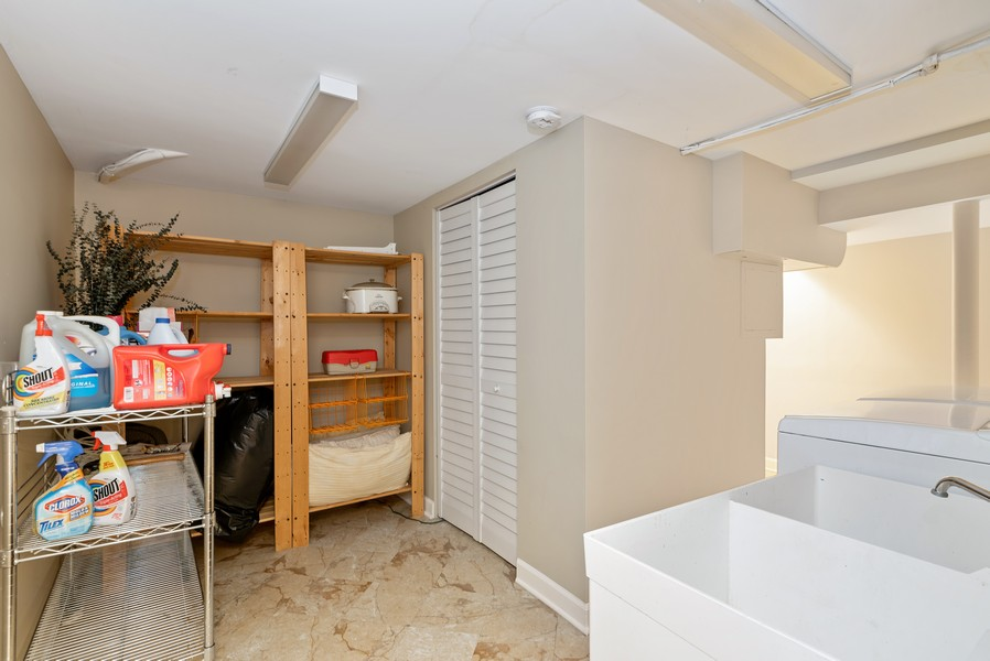 Real Estate Photography - 3655 N Artesian, Chicago, IL, 60618 - Laundry Room