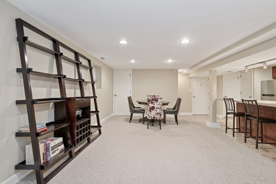 Real Estate Photography - 3655 N Artesian, Chicago, IL, 60618 - Lower Level open floor plan