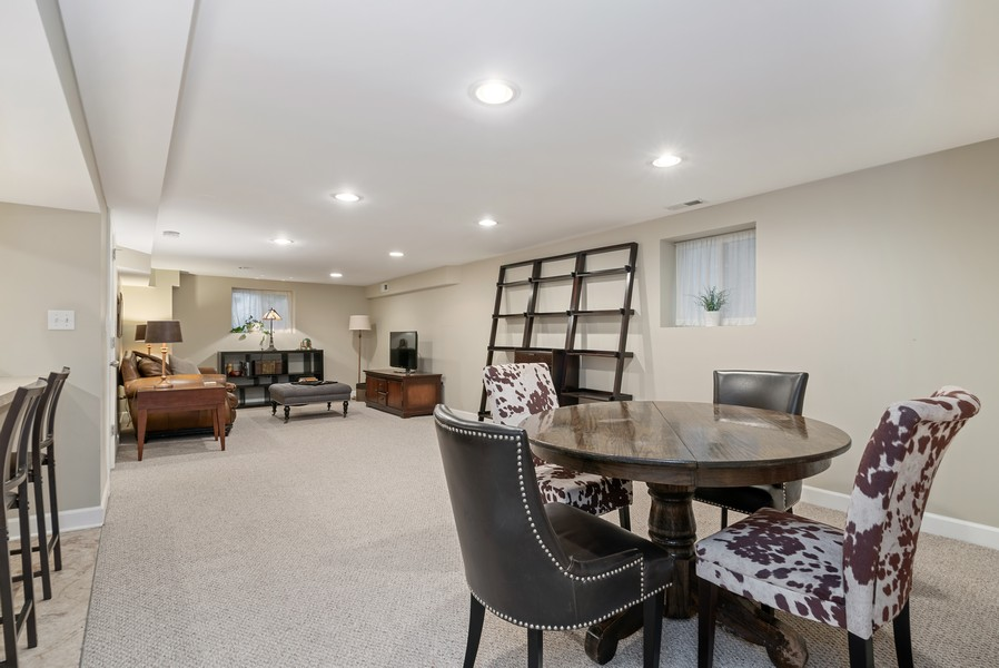 Real Estate Photography - 3655 N Artesian, Chicago, IL, 60618 - Lower Level expansive finished living space