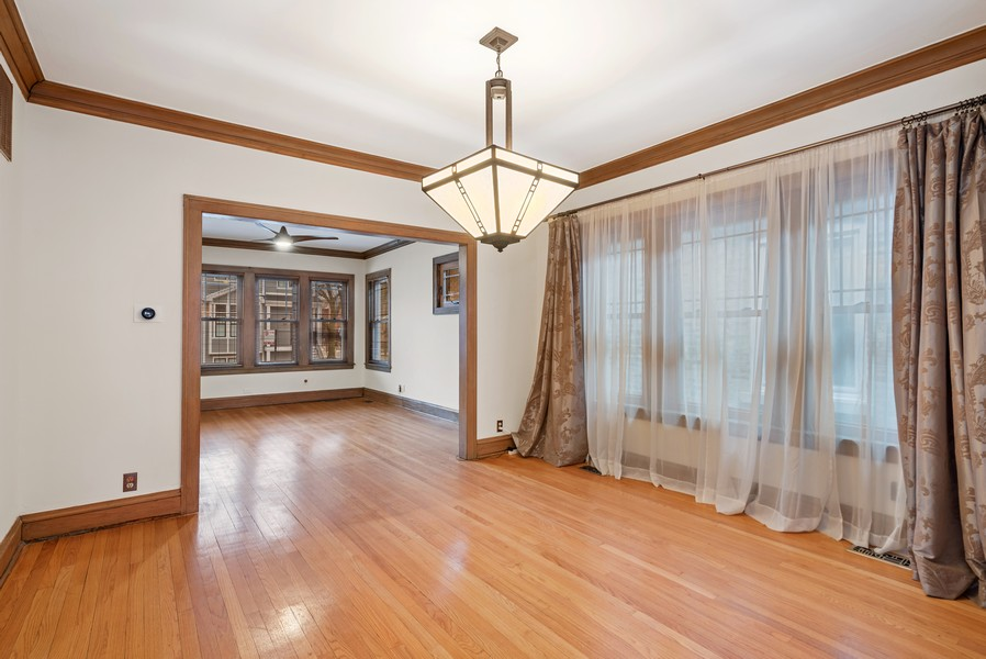 Real Estate Photography - 3655 N Artesian, Chicago, IL, 60618 - Formal Dining Room