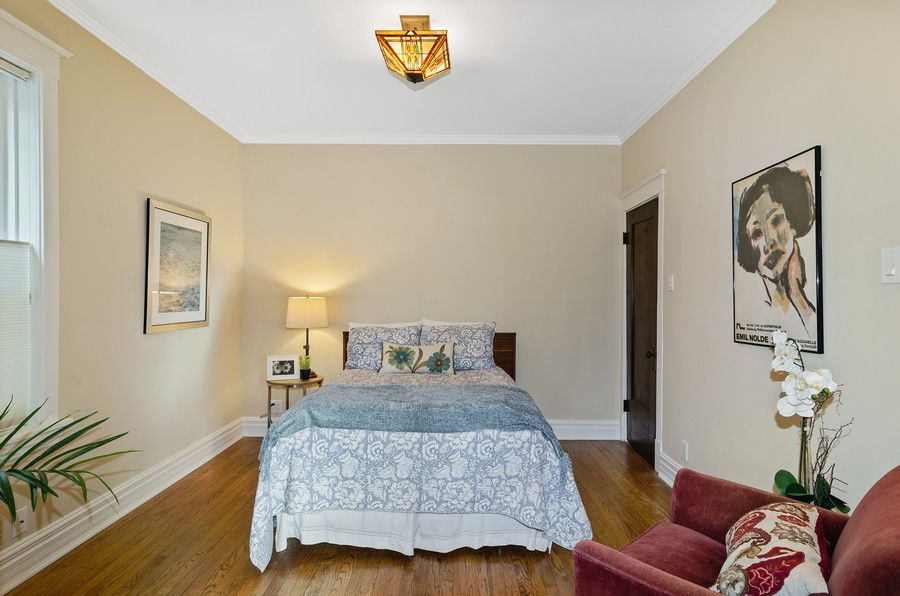 Real Estate Photography - 1330 W Elmdale, #2W, Chicago, IL, 60660 - 2nd Bedroom