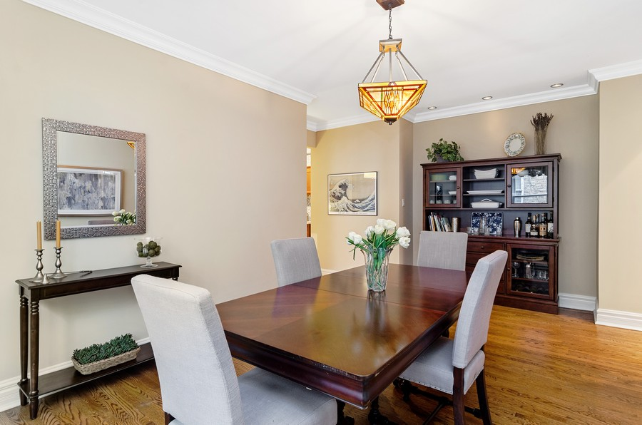 Real Estate Photography - 1330 W Elmdale, #2W, Chicago, IL, 60660 - Dining Room