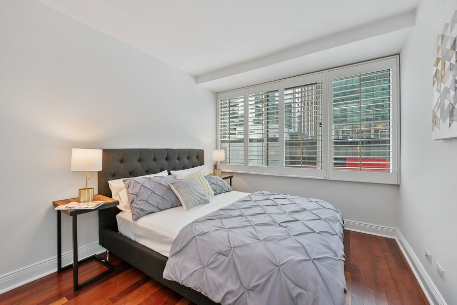Real Estate Photography - 211 E Ohio, Chicago, IL, 60611 - 2nd Bedroom