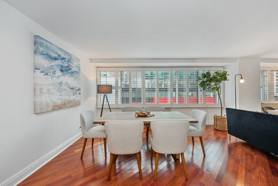 Real Estate Photography - 211 E Ohio, Chicago, IL, 60611 - Dining Room