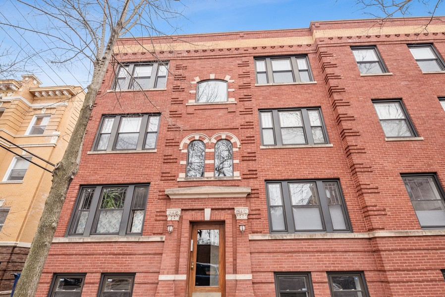 Real Estate Photography - 5609 N wayne, 3, Chicago, IL, 60660 - Front View