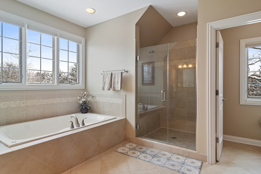 Real Estate Photography - 770 John Ct, Lake Zurich, IL, 60047 - Master Bathroom