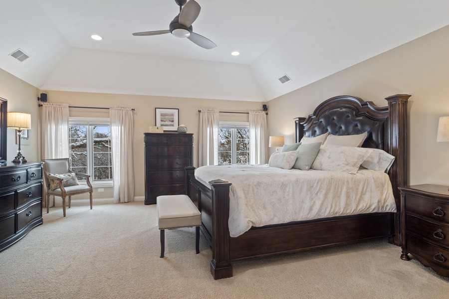 Real Estate Photography - 770 John Ct, Lake Zurich, IL, 60047 - Master Bedroom