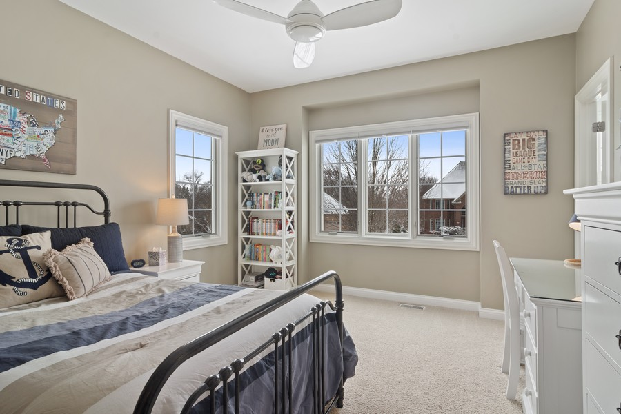 Real Estate Photography - 770 John Ct, Lake Zurich, IL, 60047 - 3rd Bedroom