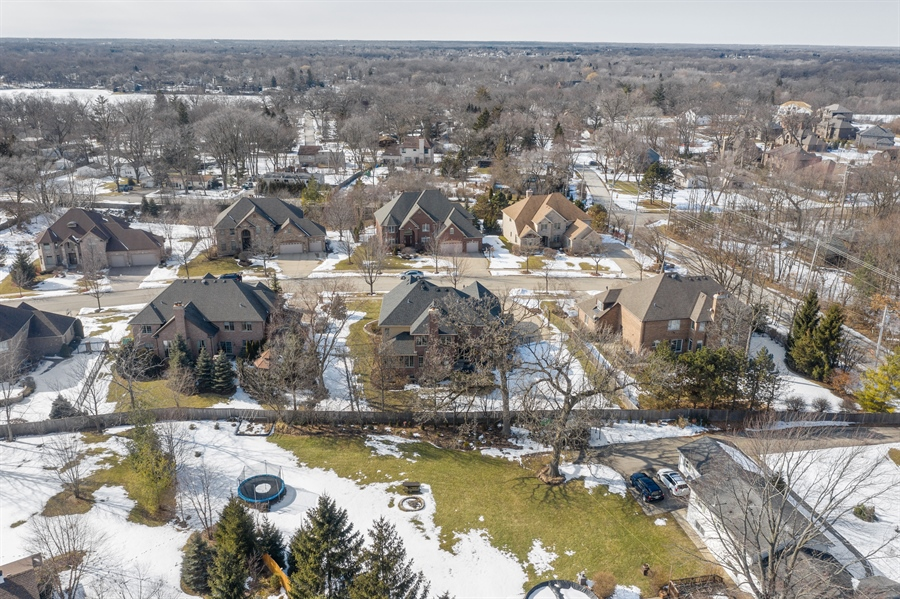 Real Estate Photography - 770 John Ct, Lake Zurich, IL, 60047 - Aerial View