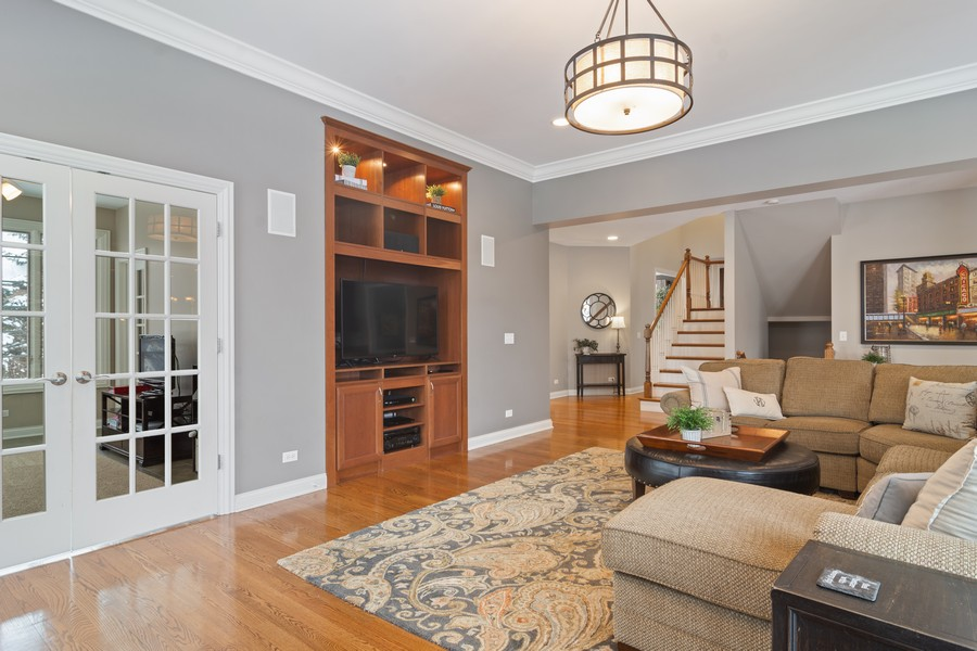 Real Estate Photography - 770 John Ct, Lake Zurich, IL, 60047 - Family Room