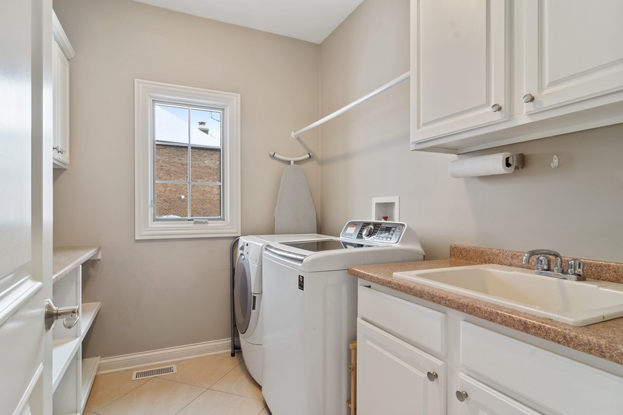 Real Estate Photography - 770 John Ct, Lake Zurich, IL, 60047 - Laundry Room