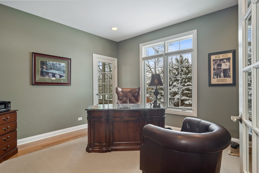 Real Estate Photography - 770 John Ct, Lake Zurich, IL, 60047 - Office