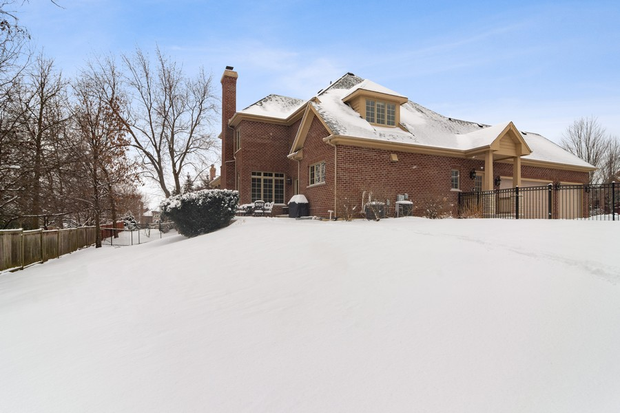 Real Estate Photography - 770 John Ct, Lake Zurich, IL, 60047 - Rear View