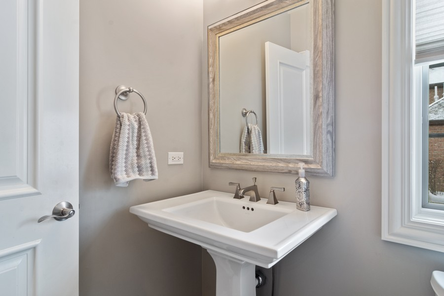 Real Estate Photography - 770 John Ct, Lake Zurich, IL, 60047 - Half Bath