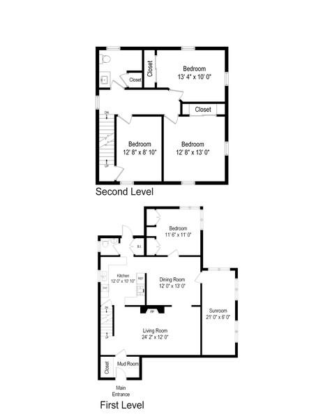Real Estate Photography - 36 Strand Street, Bridgeport, CT, 06606 - Floor Plan