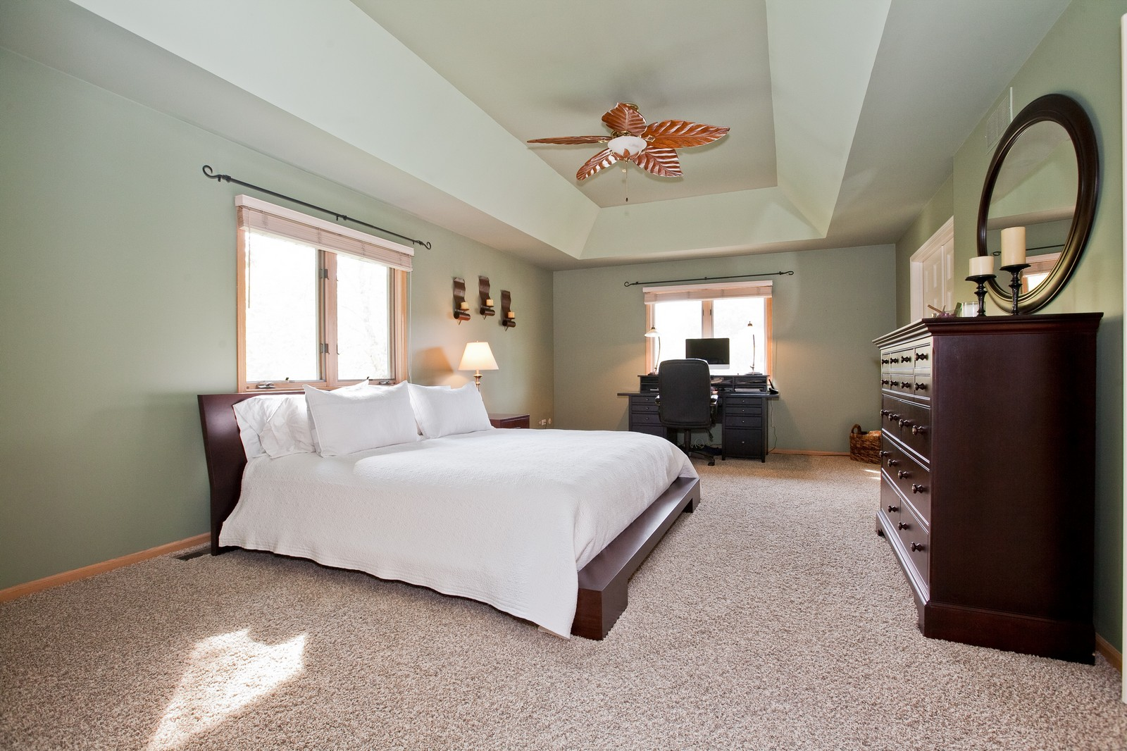 Real Estate Photography - 1031 W. 119th St, Lemont, IL, 60439 - Master Bedroom