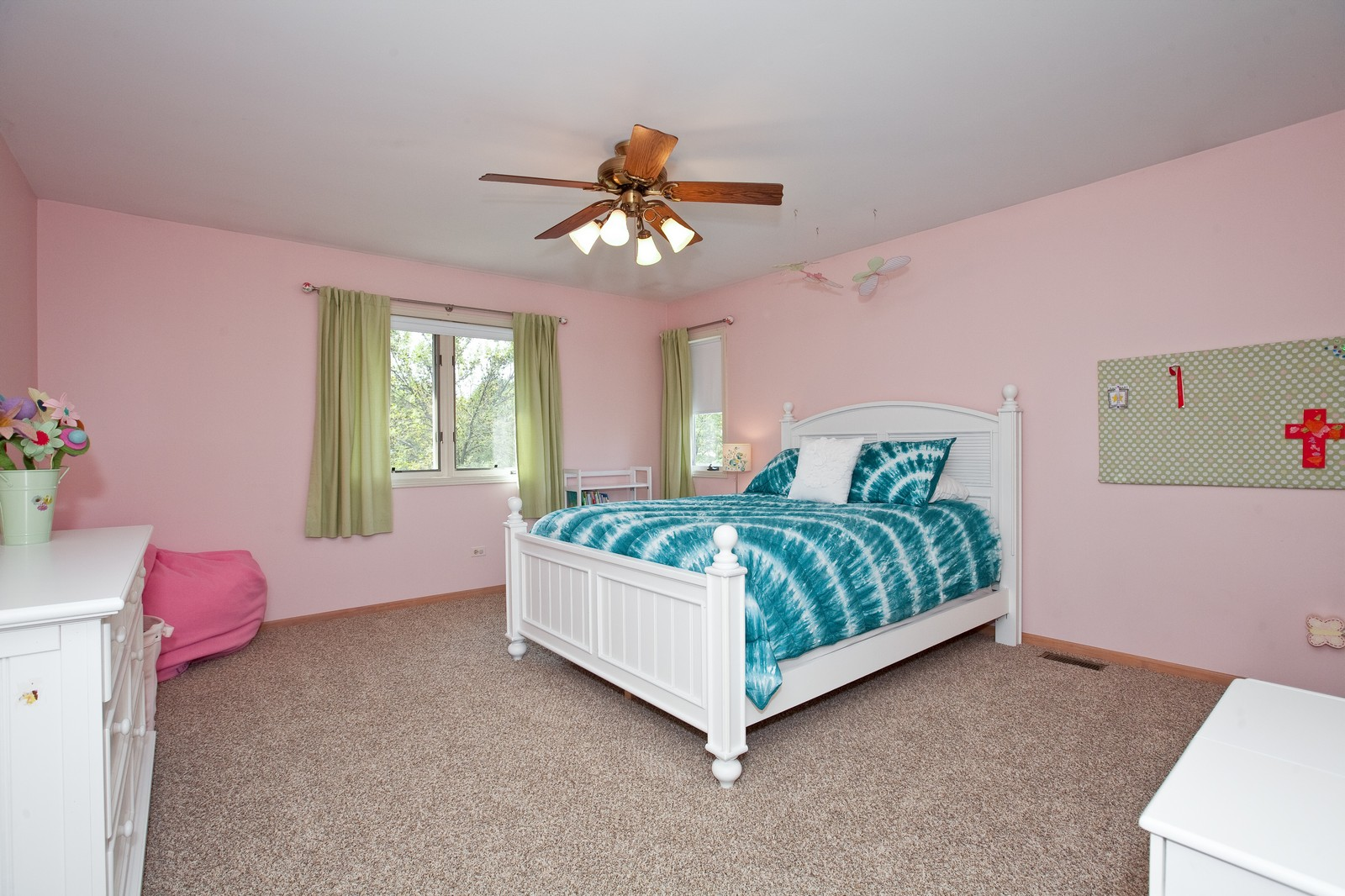 Real Estate Photography - 1031 W. 119th St, Lemont, IL, 60439 - 3rd Bedroom