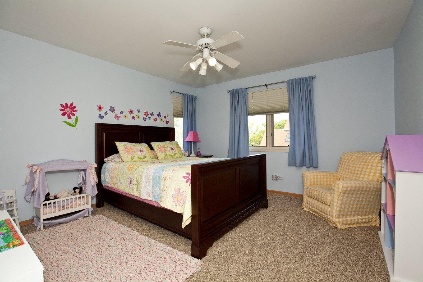 Real Estate Photography - 1031 W. 119th St, Lemont, IL, 60439 - 4th Bedroom