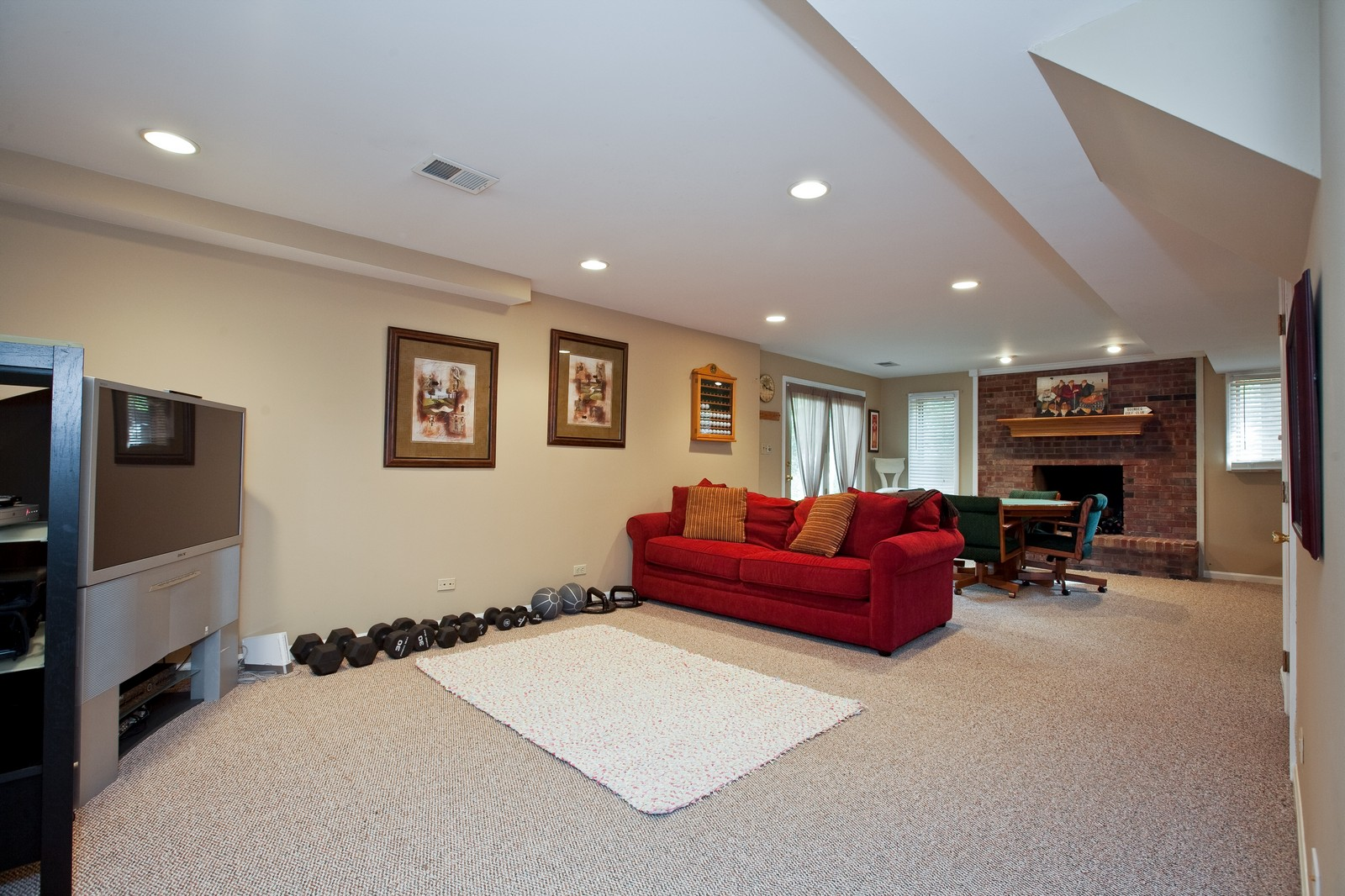 Real Estate Photography - 1031 W. 119th St, Lemont, IL, 60439 - Recreational Room