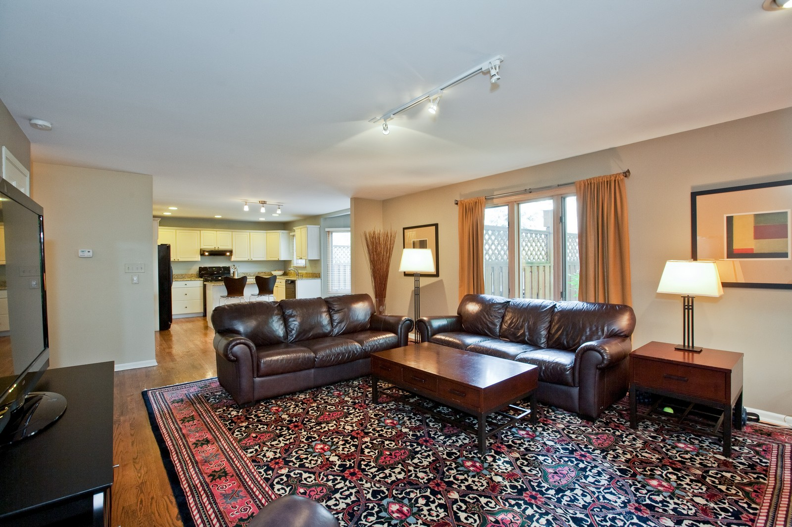 Real Estate Photography - 1031 W. 119th St, Lemont, IL, 60439 - Family Room / Kitchen