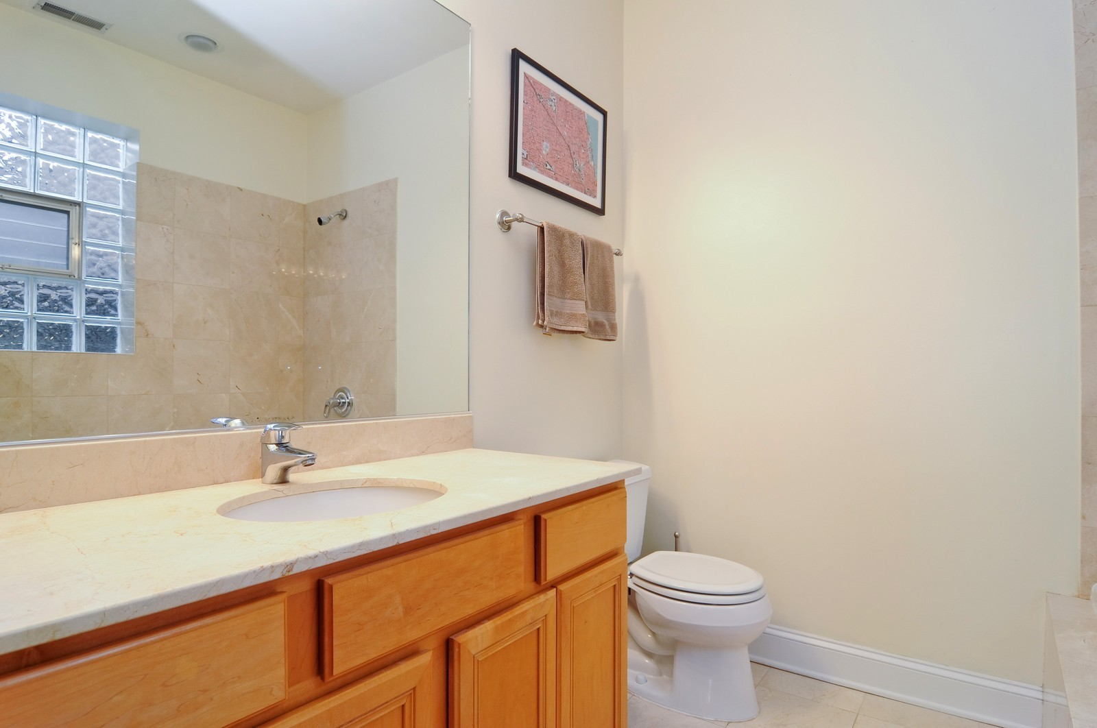 Real Estate Photography - 1957 W. Dickens Ave., 4, CHicago, IL, 60614 - Master Bathroom