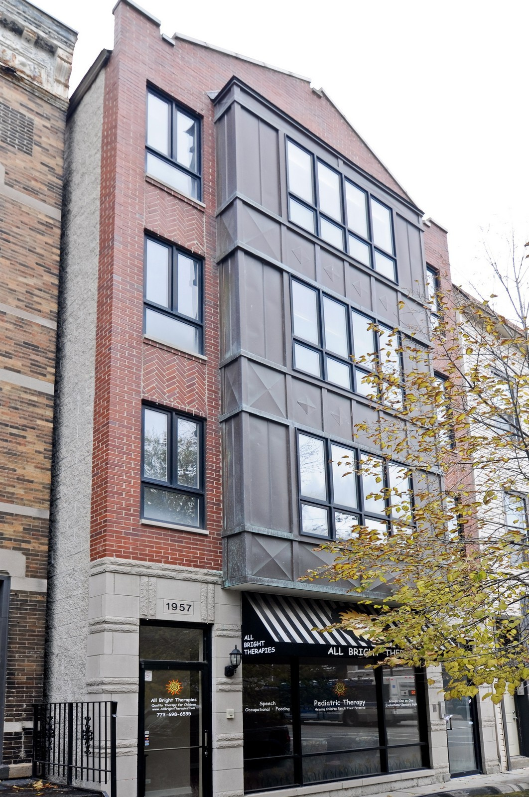Real Estate Photography - 1957 W. Dickens Ave., 4, CHicago, IL, 60614 - Front View