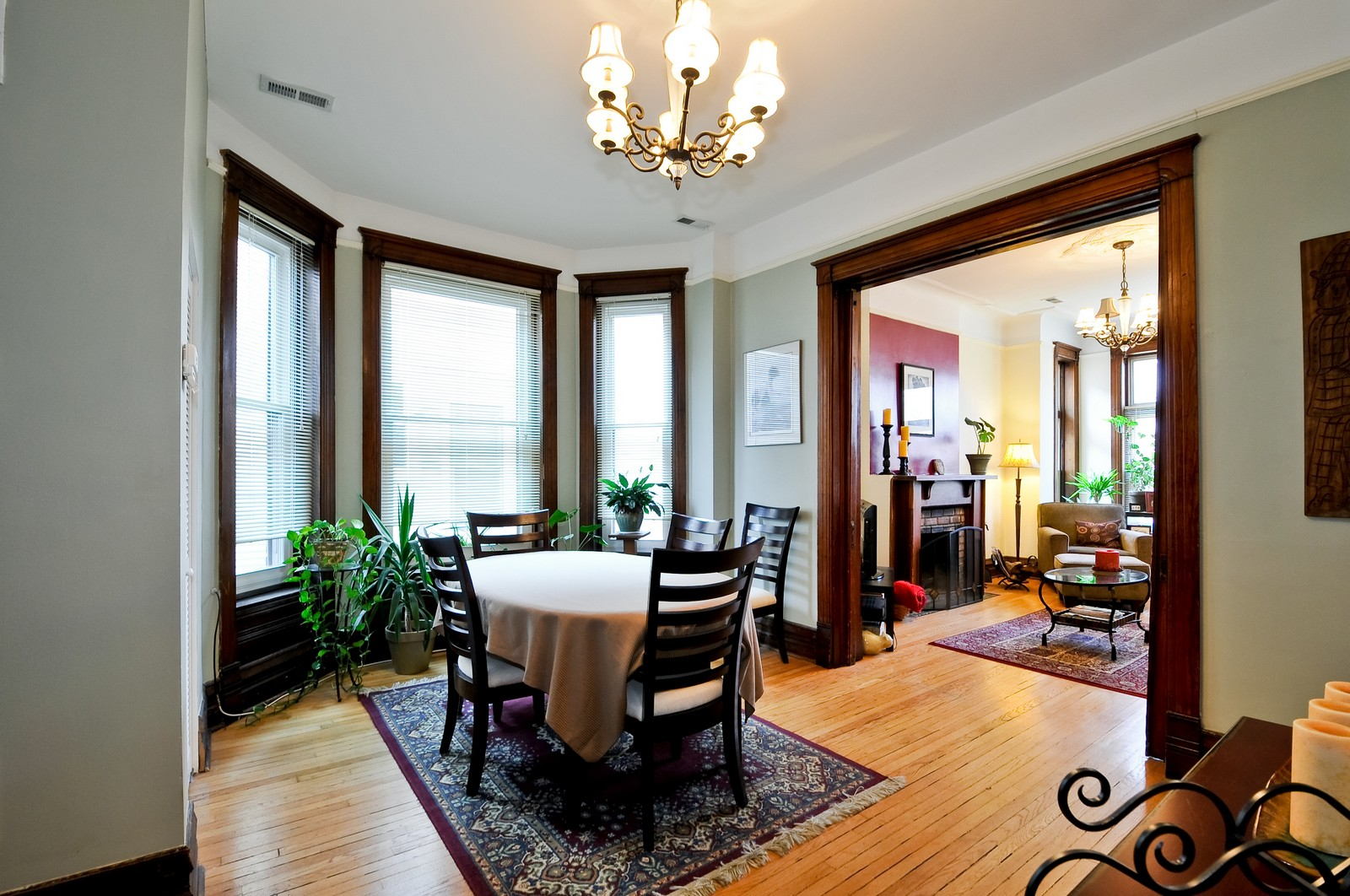 Real Estate Photography - 3127 N Racine, Chicago, IL, 60657 - Dining Room
