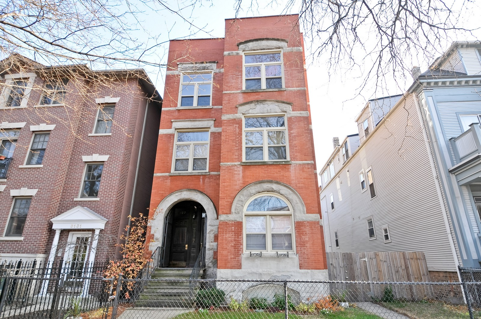 Real Estate Photography - 3127 N Racine, Chicago, IL, 60657 - Front View