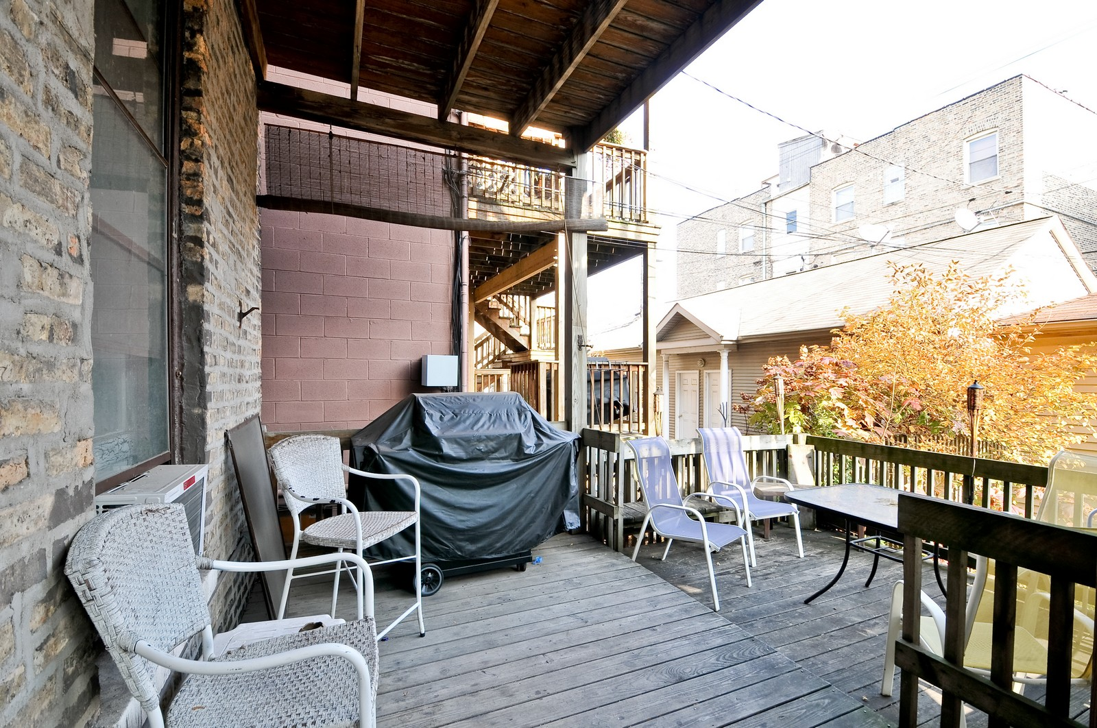 Real Estate Photography - 3127 N Racine, Chicago, IL, 60657 - Deck