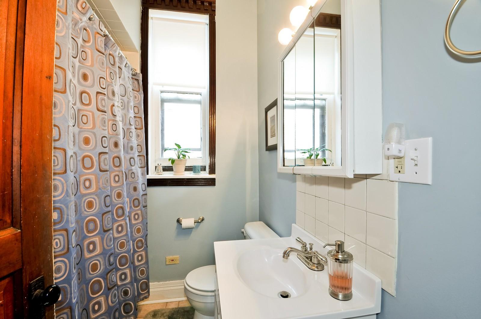Real Estate Photography - 3127 N Racine, Chicago, IL, 60657 - Bathroom