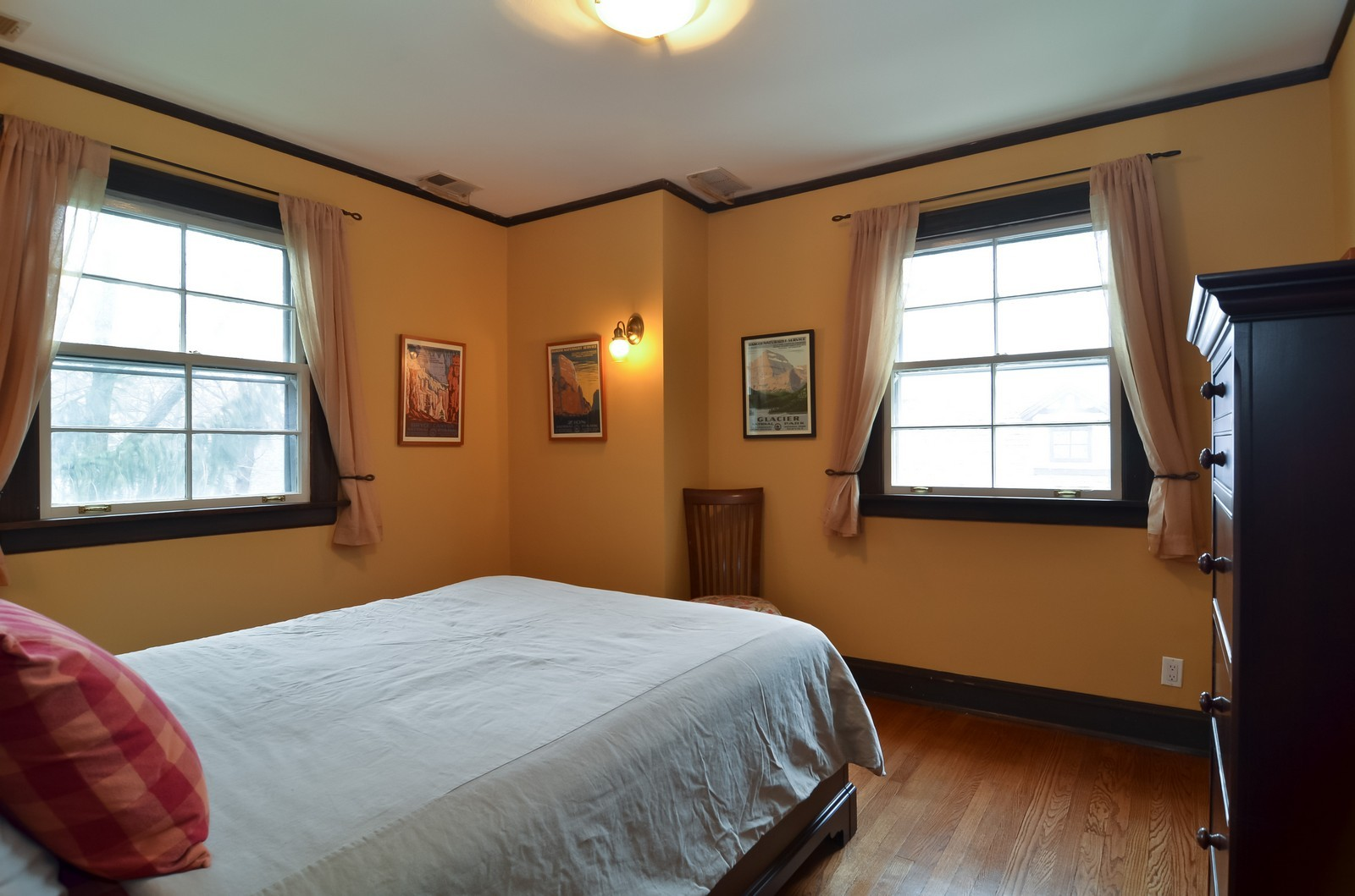 Real Estate Photography - 6270 N Louise, Chicago, IL, 60646 - 3rd Bedroom