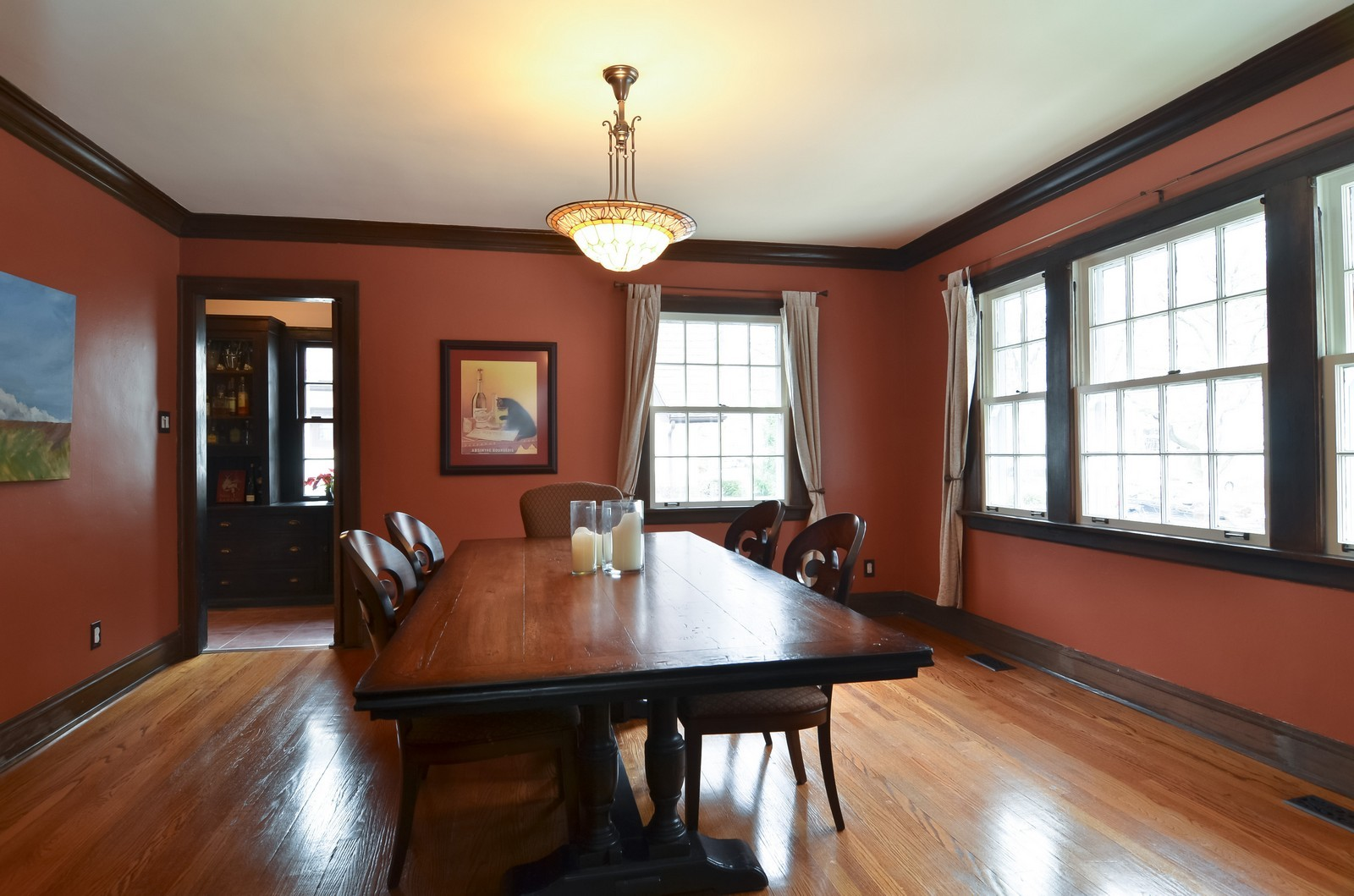 Real Estate Photography - 6270 N Louise, Chicago, IL, 60646 - Dining Room