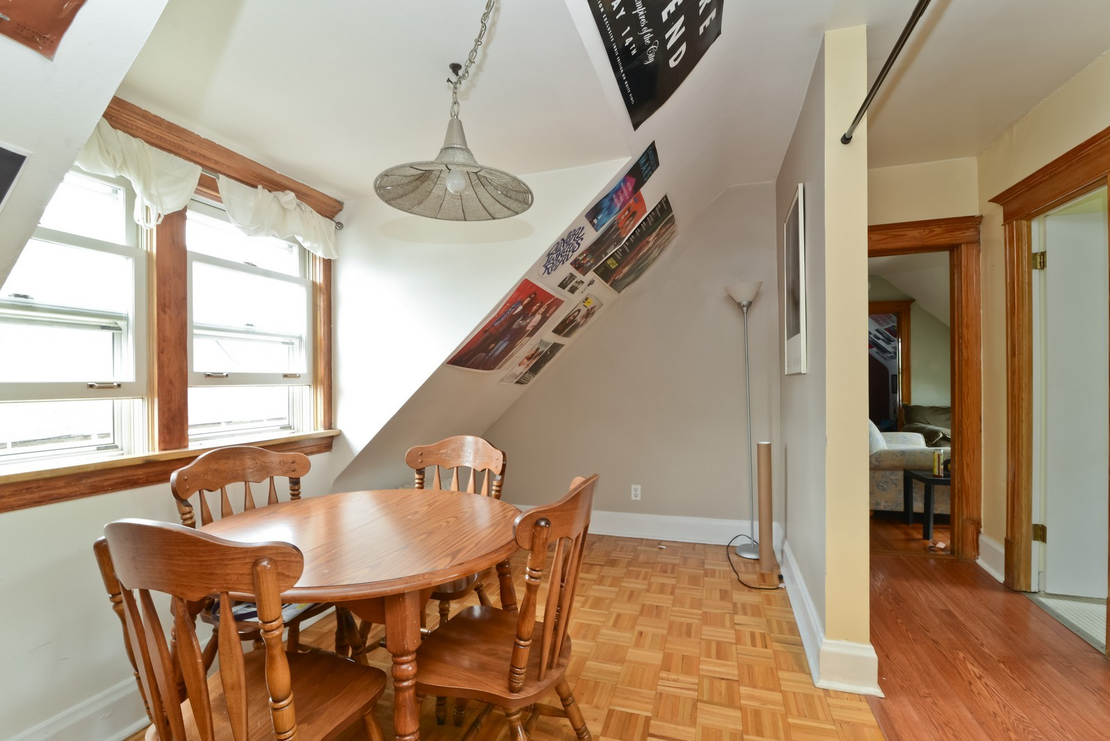 Real Estate Photography - 1221 W Draper, 3, Chicago, IL, 60614 - Dining Room