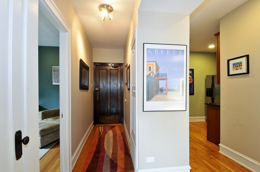 Real Estate Photography - 1928 W Addison, 2S, Chicago, IL, 60613 - Foyer