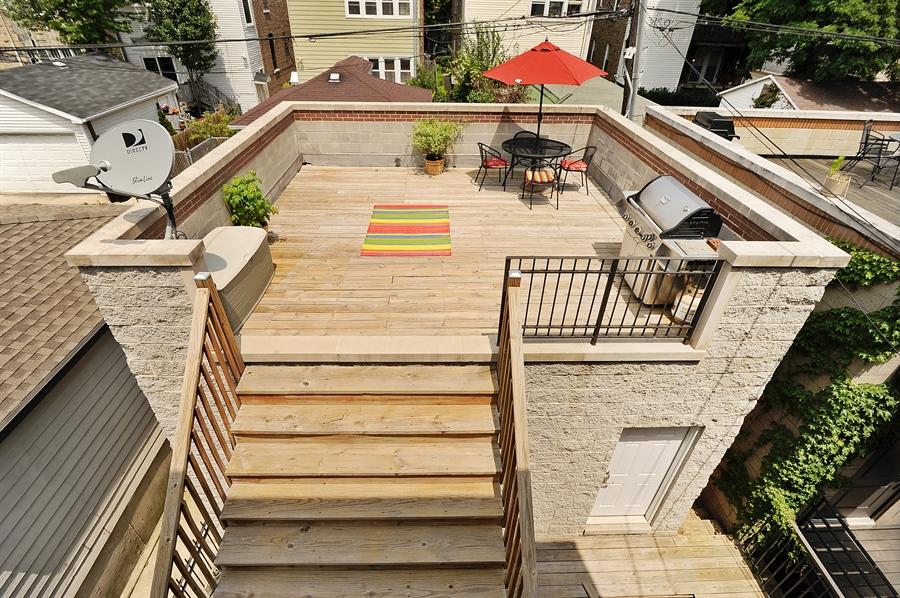 2116 w charleston st chicago il 60647 virtual tour conlon real estate roscoe - Houses garage deck rooftop party ...