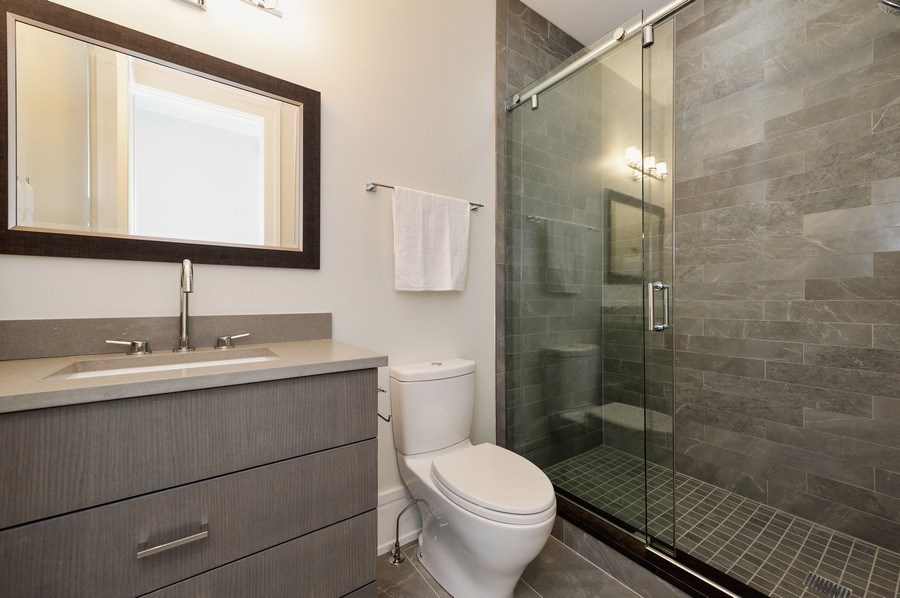 Real Estate Photography - 1823 N Bissell, Chicago, IL, 60614 - 4th Bathroom