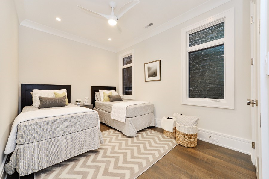 Real Estate Photography - 1823 N Bissell, Chicago, IL, 60614 - 3rd Bedroom